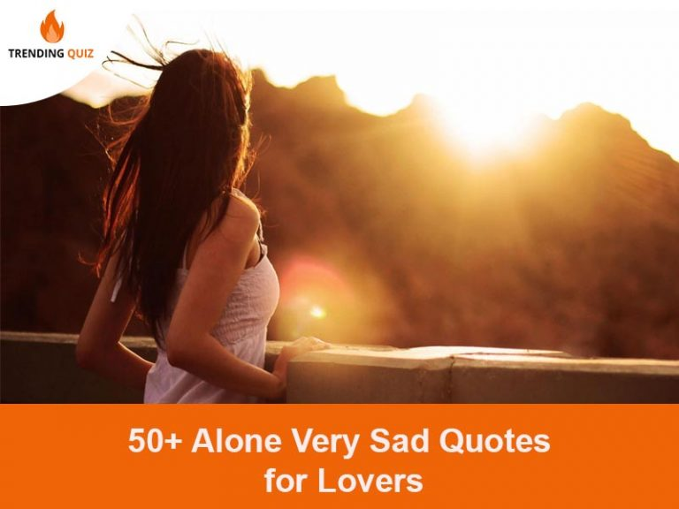 Alone Very Sad Quotes for Lover