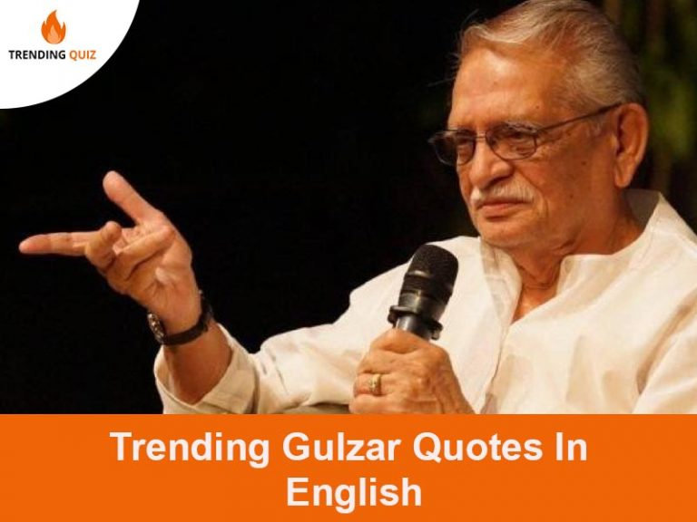 Trending Gulzar Quotes In English