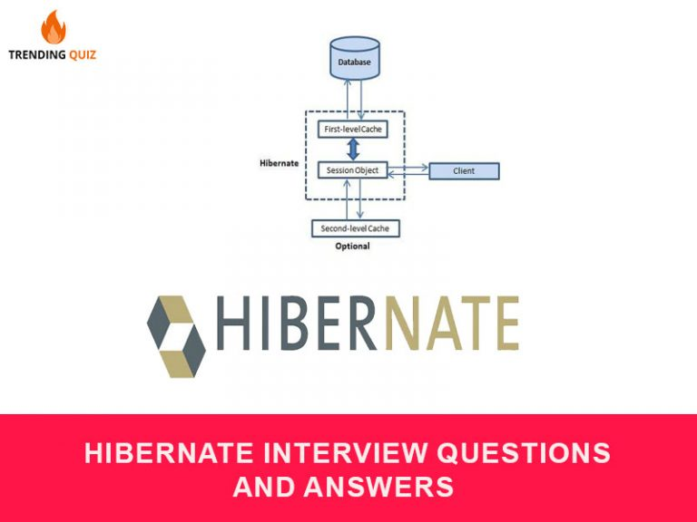 Hibernate interview questions and answers