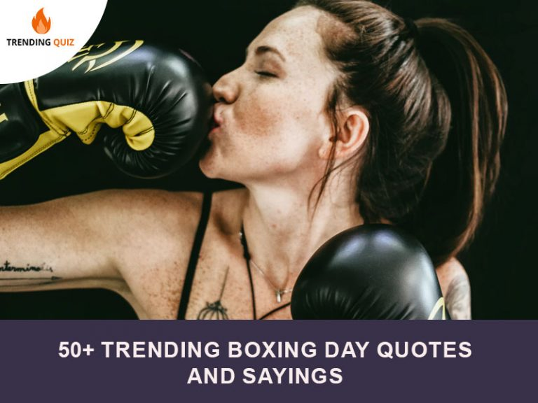 Trending Boxing Day Quotes And Sayings