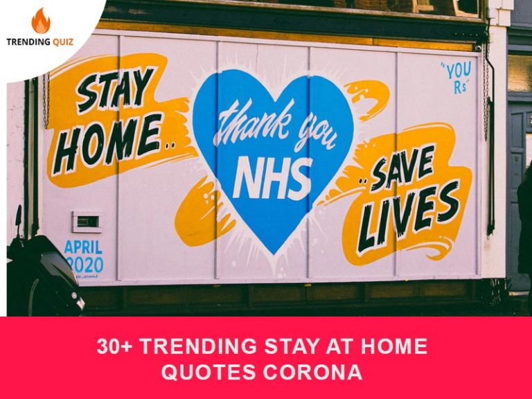Trending Stay At Home Quotes Corona