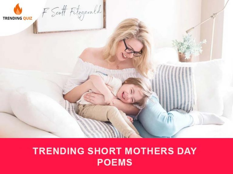 Trending short mothers day poems
