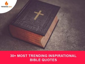 Most Trending Inspirational Bible Quotes
