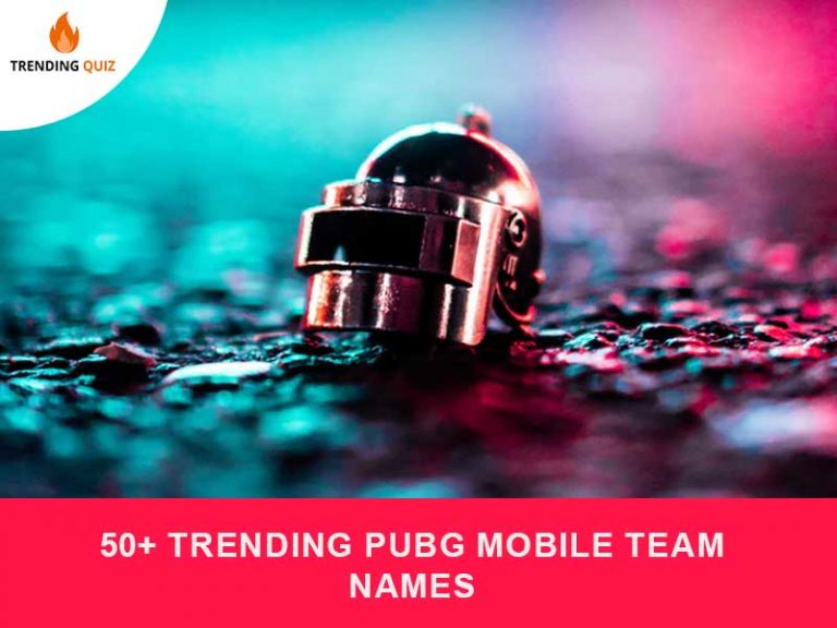 50+ Trending Pubg Mobile Team Names
